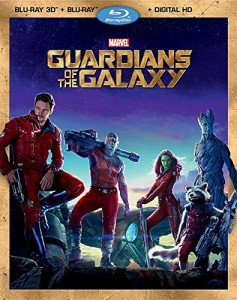 Guardians of the Galaxy Blu-ray Cover