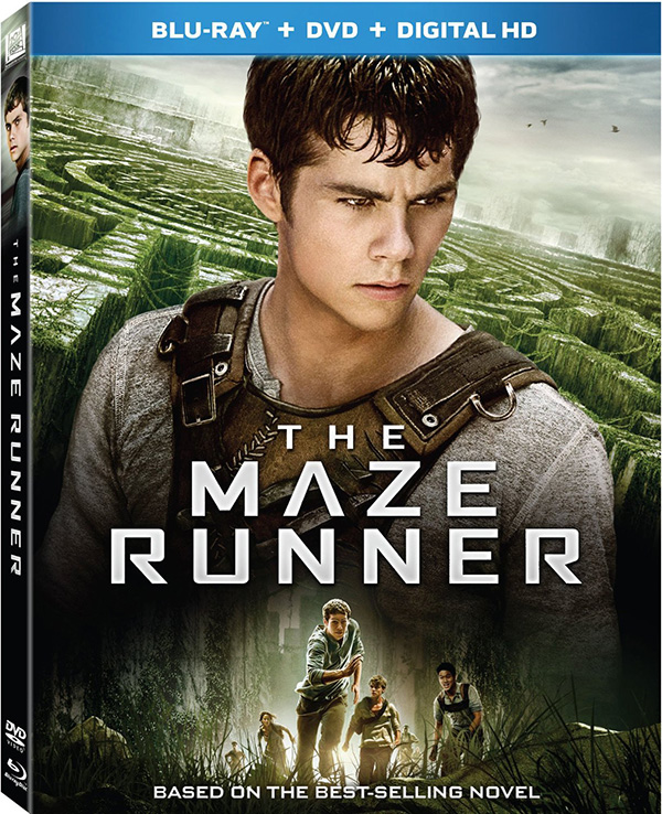 Maze Runner Blu-ray DVD Digital 600px