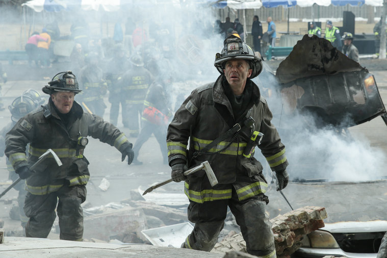 Chicago Fire - Copyright NBC