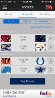 NFL Mobile app updated for playoffs