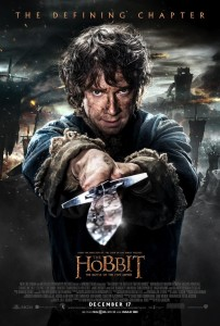 the hobbit the battle of the five armies poster bilbo
