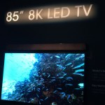 Sharp displays 85″ 8k LED TV at CES