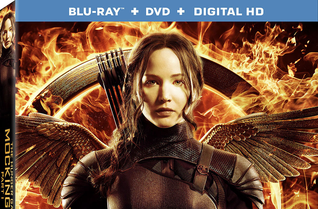 The Hunger Games: Mockingjay \u2013 Part 1\u2032 Blu-ray \u0026amp; Digital release ...