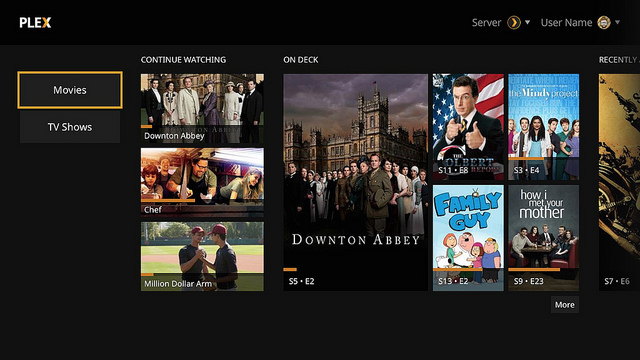 Plex app released for PS3/PS4