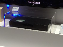 Panasonic's prototype 4k Blu-ray player at CES