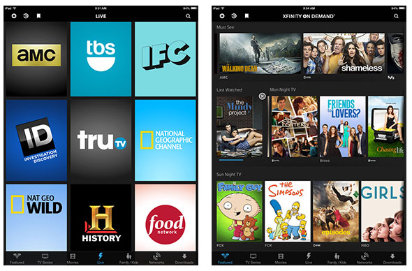 Comcast's TV Everywhere lineup surpasses 70 live channels