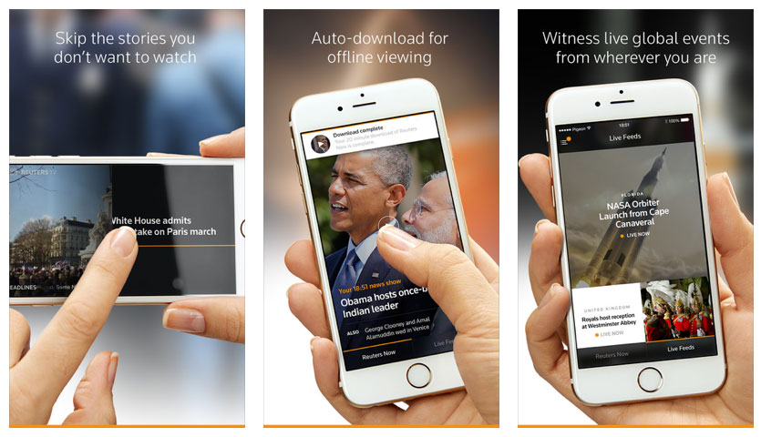 Reuters launches mobile TV news app for iPhone – HD Report