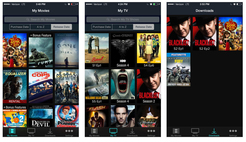 Vudu App Updated for iPhone & iPad