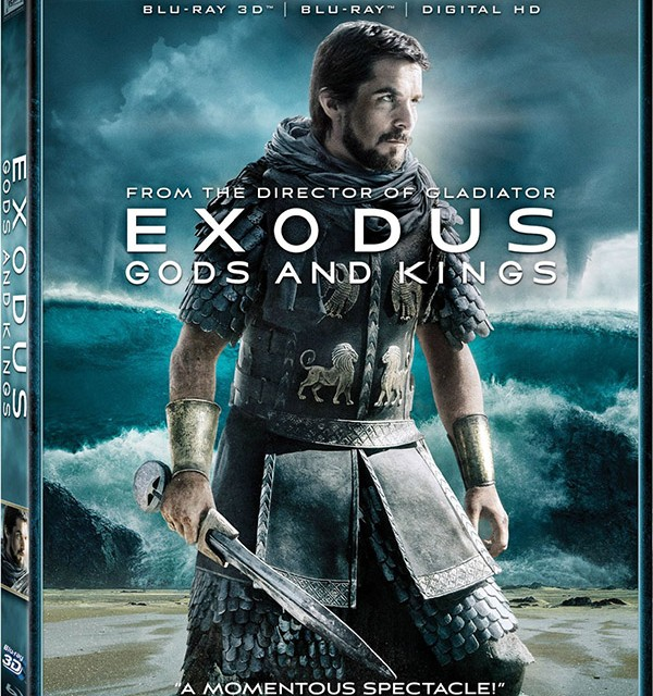 Exodus Gods & Kings Deluxe Edition Blu-ray 3D