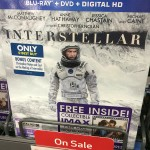 Interstellar with IMAX Film Cell Available in Limited Quantities in Stores