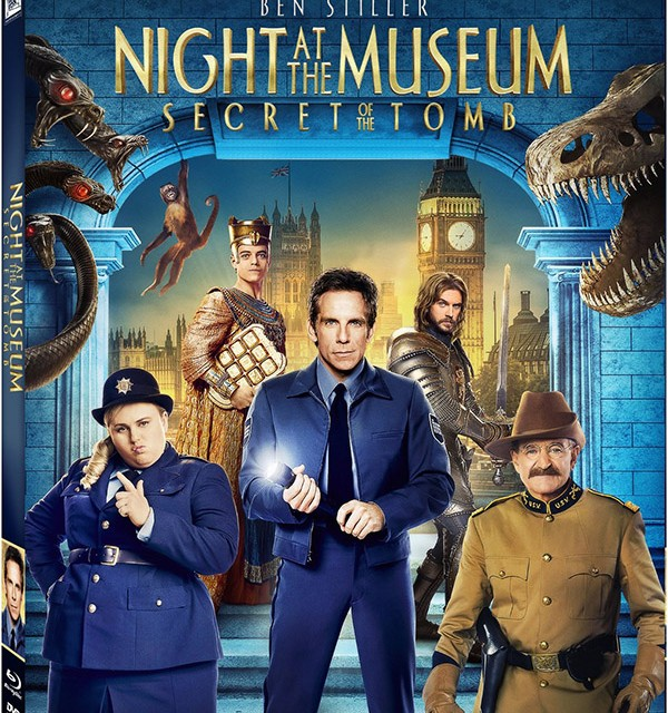 Night at the Museum Secret of the Tomb Blu-ray Disc Combo