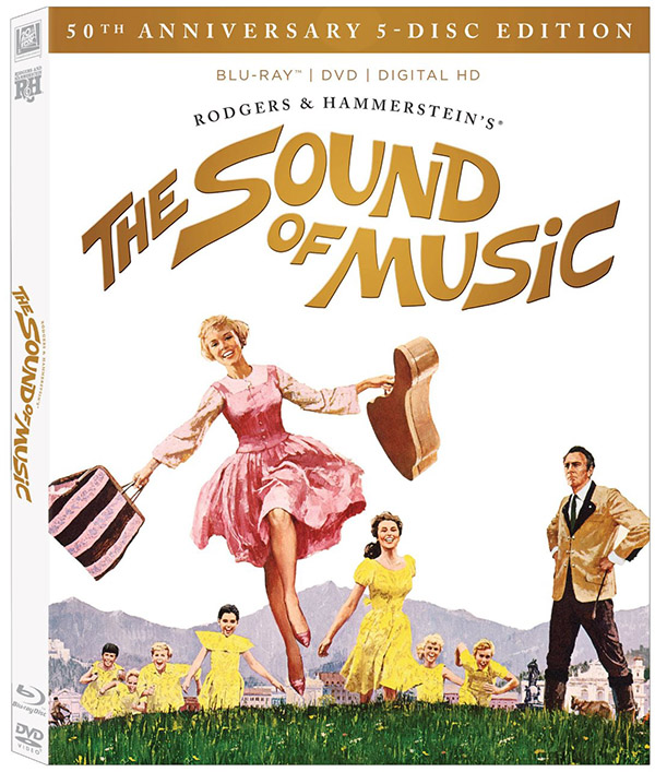 Sound of Music 50th Anniversary Ultimate Collector's Edition Blu-ray
