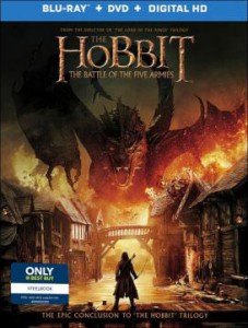 The Hobbit The Battle of the Five Armies Best Buy Steelbook
