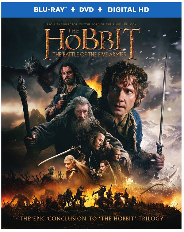 The Hobbit The Battle of the Five Armies Blu-ray SlipCover Front