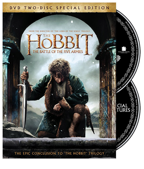 The Hobbit The Battle of the Five Armies Special Edition DVD Front