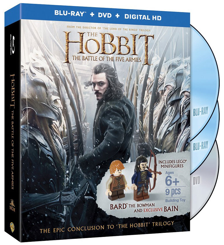 'The Hobbit: The Battle of the Five Armies' Blu-ray Editions & Exclusives