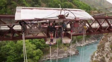 Check Out This Extreme Bungy Jumping Video in 4k