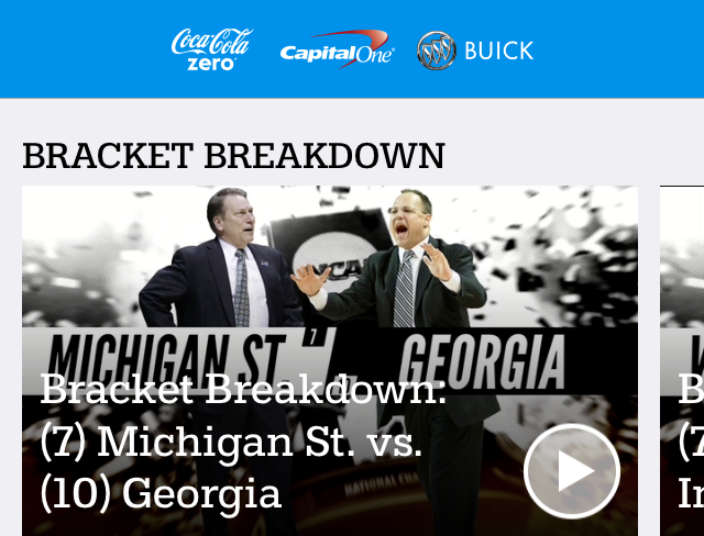 NCAA March Madness Live app updated for Android & iOS devices