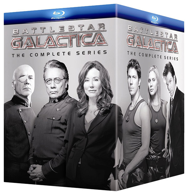 Battlestar Galactica: The Complete Series 21-disc set only $88.99