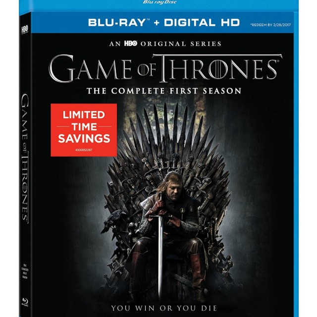 Game of Thrones Season 1 Blu-ray Limited Time Savings