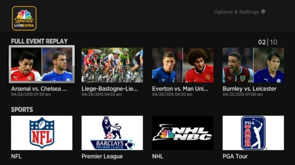 nbc sports live extra channel added to roku lineup  u2013 hd report