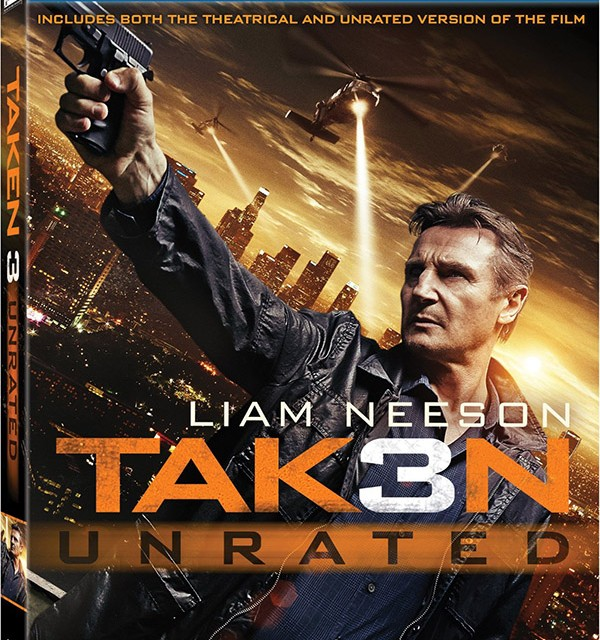 Taken 3 Blu-ray DigitalHD