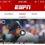 ESPN app update includes Apple Watch support