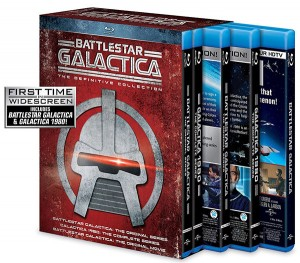 Battlestar Galactica The Definitive Collection Blu-ray side