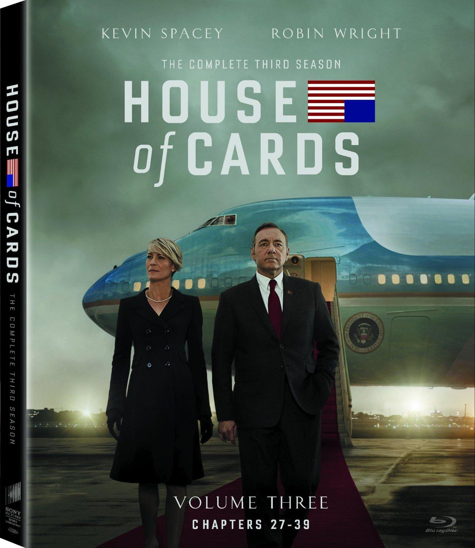 House of Cards Season 3 Blu-ray