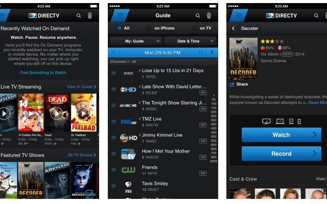 iphone-directv-app-screens
