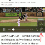 MLB.com At Bat app now supports Apple Car Play & Embedded Tweets