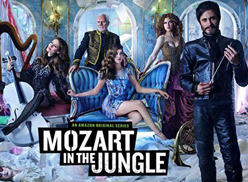 'Mozart in the Jungle' HDR promo - Amazon