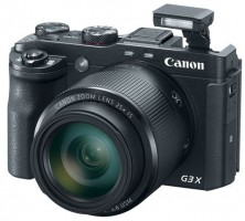 Canon's compact G3 X camera features 25x Optical Zoom Lens