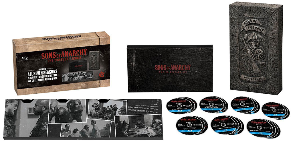 Huge Discount: 'Sons of Anarchy The Complete Series' on Blu-ray & DVD [Expired]