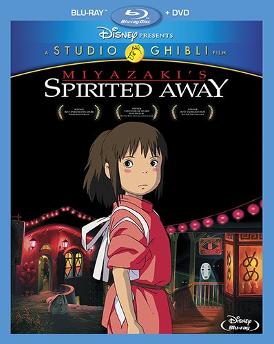 Spirited Away & Chappie among new Blu-ray releases this week