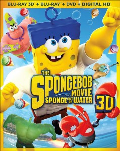The Spongebob Movie Sponge Out of Water Blu-ray