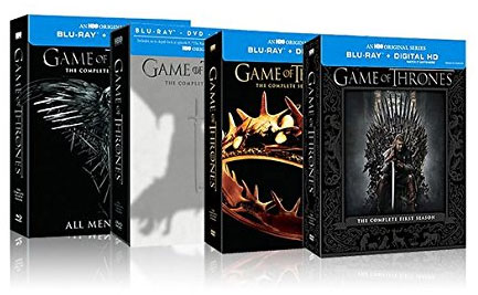 Game of Thrones: Seasons 1-4 Blu-ray Collection On Sale [Expired]