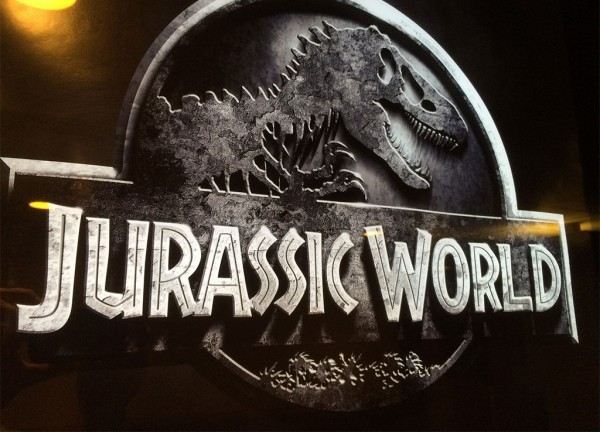 Jurassic World Theater Poster Logo Only