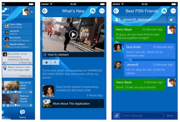 playstation-app-screens-ios