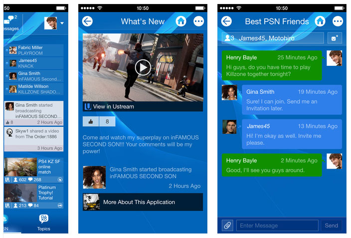 PlayStation App updated for Android & iOS devices