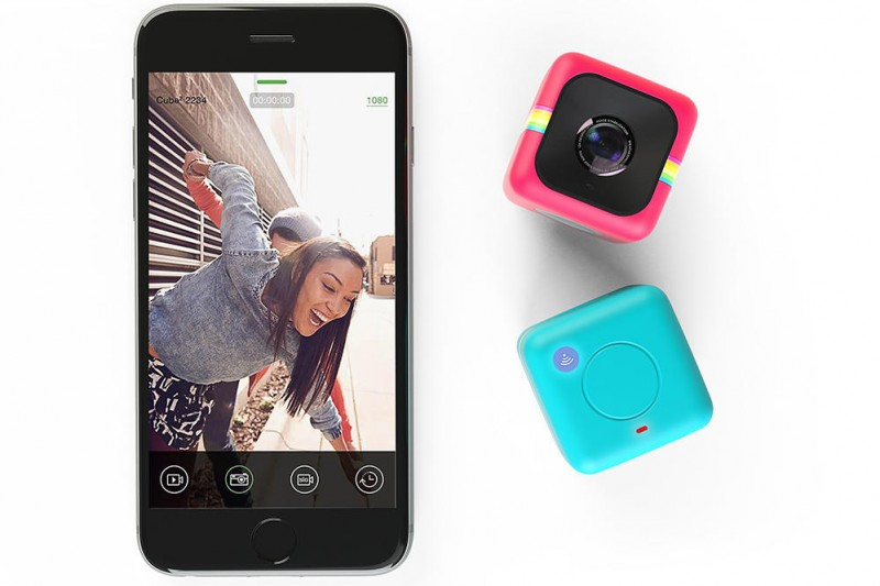 Polaroid's Cube+ includes Android & iOS control over WiFi