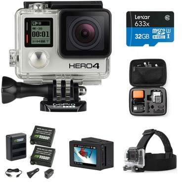 Deal Alert: GoPro HERO4 BLACK Prime Bundle [Expired]