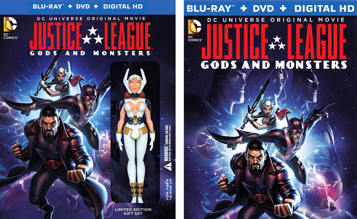 Justice-League-Gods-and-Monsters-Blu-ray-editions