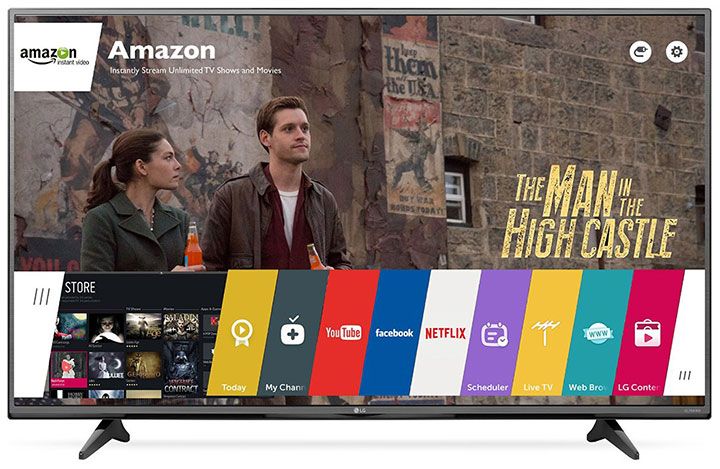 Amazon offers up to $500 Gift Card with LG 4k TV purchase