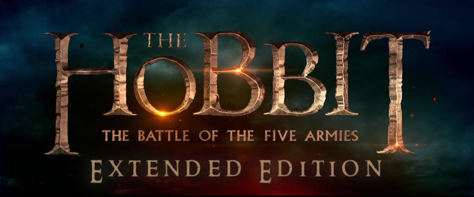 The Hobbit: The Battle of the Five Armies Extended Edition Title Graphic