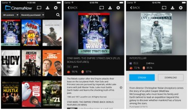 CinemaNow app updated for iPhone 6 & 6+ resolutions