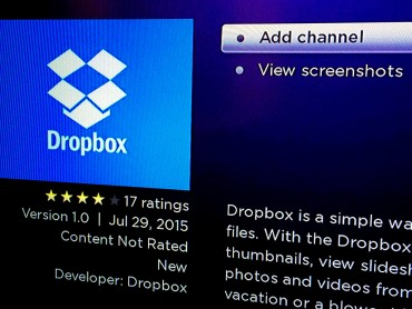 Dropbox now works on Roku players