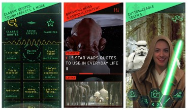 Disney launches Star Wars app for Android & iOS devices
