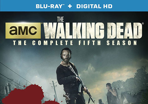 New on Blu-ray this Week: The Walking Dead Season 5 & more