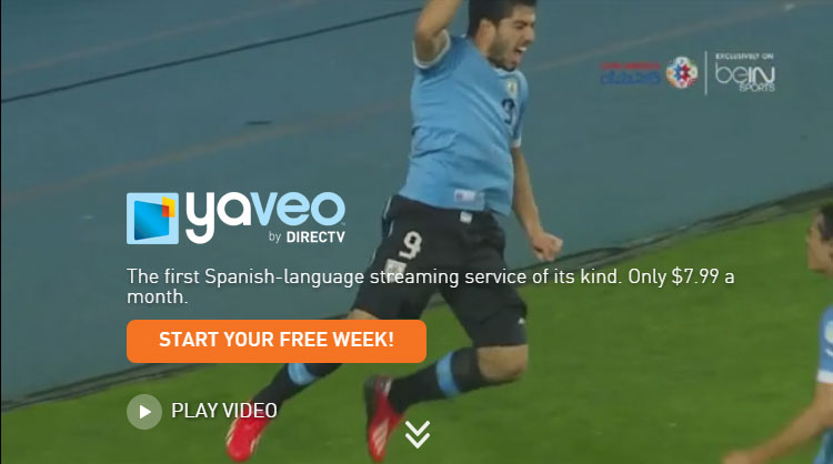 DIRECTV's Spanish-language Yaveo service now on Roku